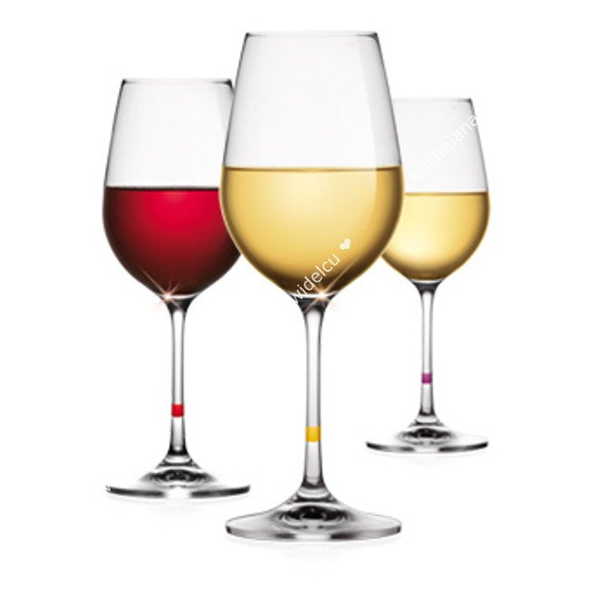 Lampki Do Białego I Czerwonego Wina Komplet 6 Szt Pojemność 350